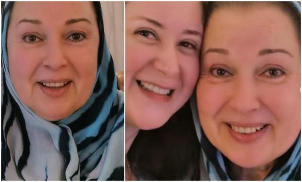 بعد غياب 25 عامًا.. هكذا تغيّرت ملامح الفنانة نورا بعد ظهورها مع ابنة شقيقتها مي نور الشريف