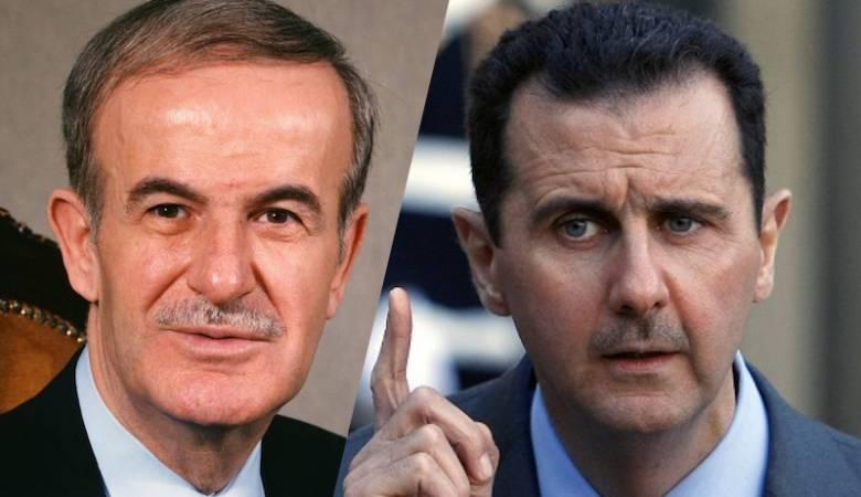 بشار وحافظ الأسد