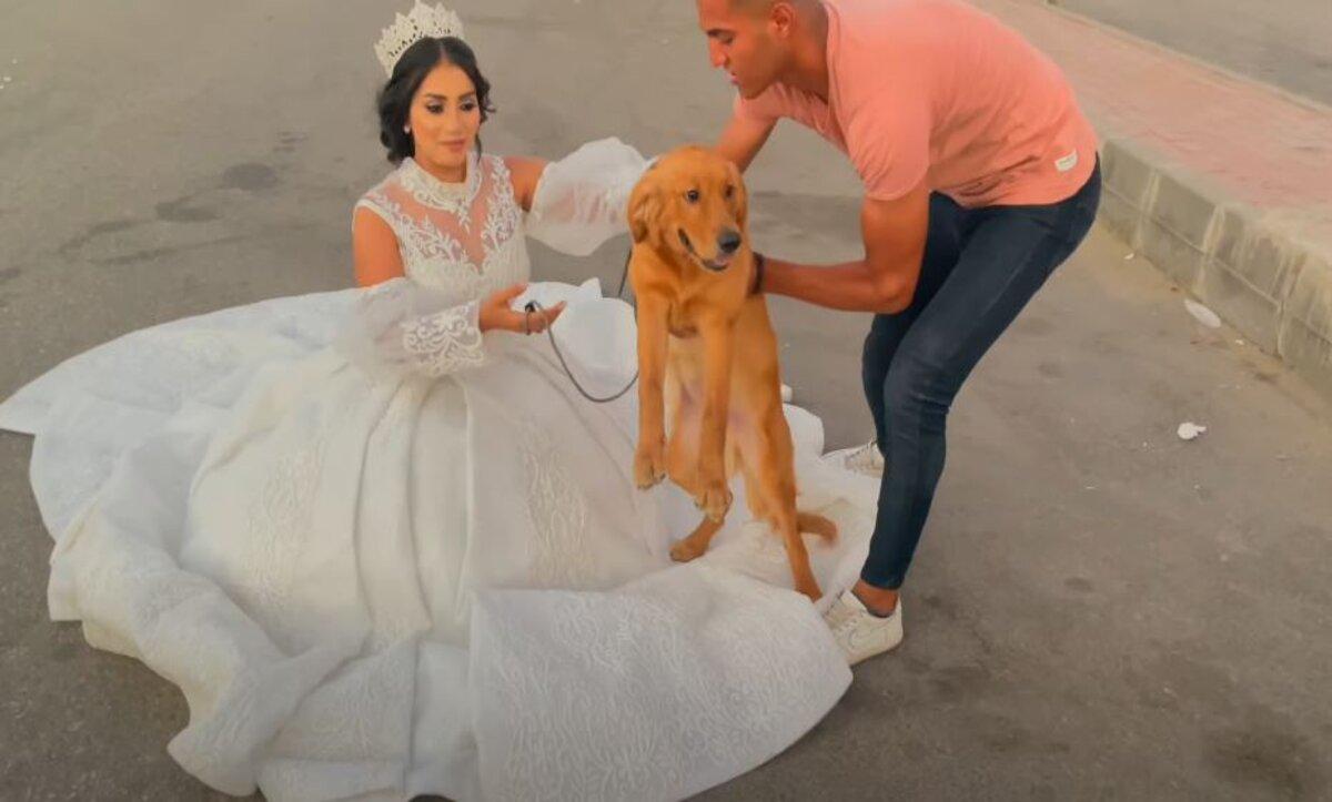 هبة مبروك.. ناشطة مصرية تثير الجدل بإعلان زواجها من كلب (صور - فيديو)