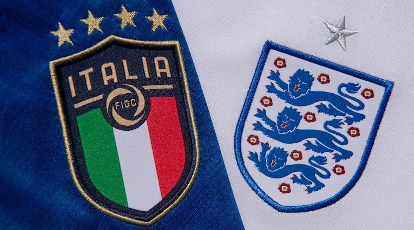 موعد مباراة إنكلترا وإيطاليا