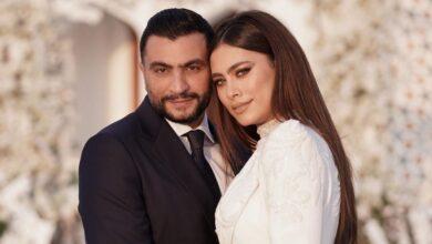 Photo of الصور الأولى من حفل زفاف الفنانة هاجر أحمد ورجل الأعمال أحمد الحداد