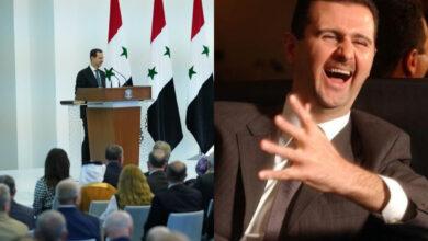 "Photo of بشار الأسد يسرد نكتة خلال خطابه بعد أداء اليمين الدستورية: ""لمين التصفيق؟"" (فيديو)"