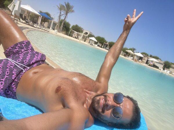 أحمد السعدني يحتفل بعيد ميلاده
