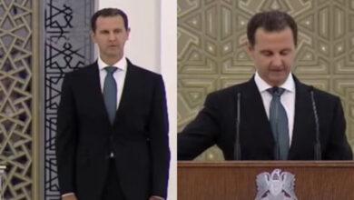 Photo of بشار الأسد يؤدي اليمين الدستورية ويواصل الحديث عن مؤامرات خارجية (فيديو)