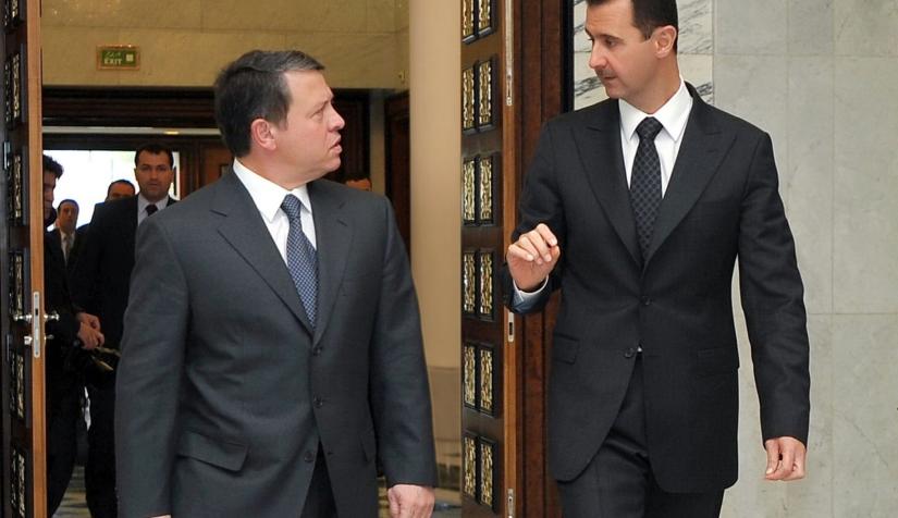 الأردن يجري اتصالات رسمية مع نظام الأسد بعد تصريحات الملك عبدالله