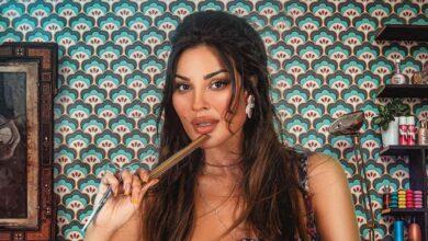 """Photo of نادين نسيب نجيم من كواليس صالون زهرة: """"بظن التعب والنعس واضح"""" (صور)"""