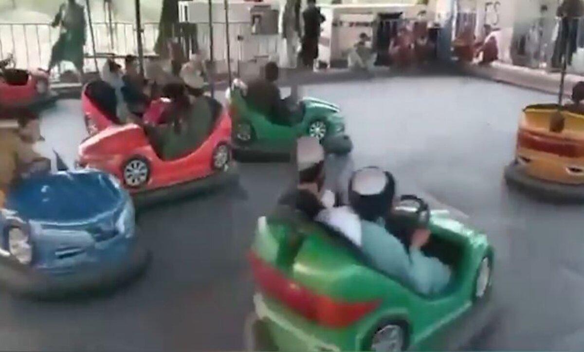 أفغانستان طالبان في مدينة ألعاب
