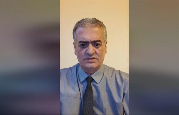 أيمن رضا يلتقى شبيه رجل رشح نفسه لرئاسة سوريا (فيديو)