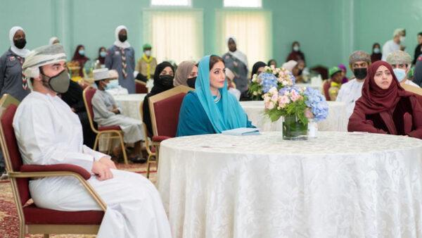 السيدة الجليلة عهد البوسعيدية في ظهور جديد وتفاعل كبير من قبل العمانيين