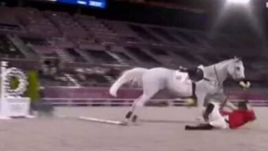 Photo of فروسية آل الأسد و حمشو تُذل في أولمبياد طوكيو وتكشف دولة الفساد في سوريا (فيديو)