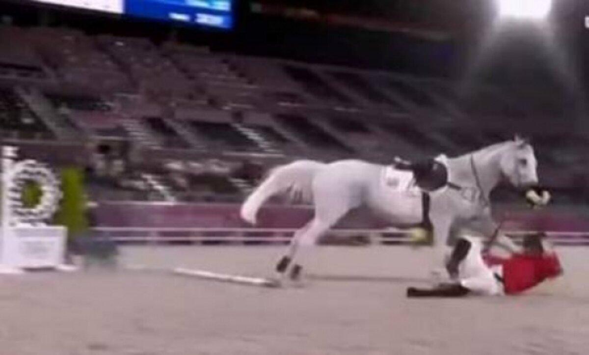 فروسية آل الأسد و حمشو تُذل في أولمبياد طوكيو وتكشف دولة الفساد في سوريا (فيديو)