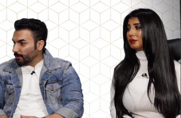 سارة الكندري تنفي ارتباطها بالكويتي مشاري العوضي وتعلق على اللقطات المتداولة عنهما (فيديو)