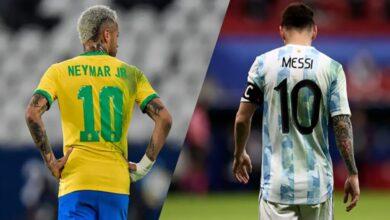 Photo of كلاسيكو الأرض بين البرازيل والأرجنتين ومواعيد مباريات تصفيات مونديال قطر 2022